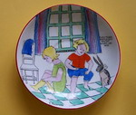 Children's Cup and Saucer designed by E. Radford - (Sold)