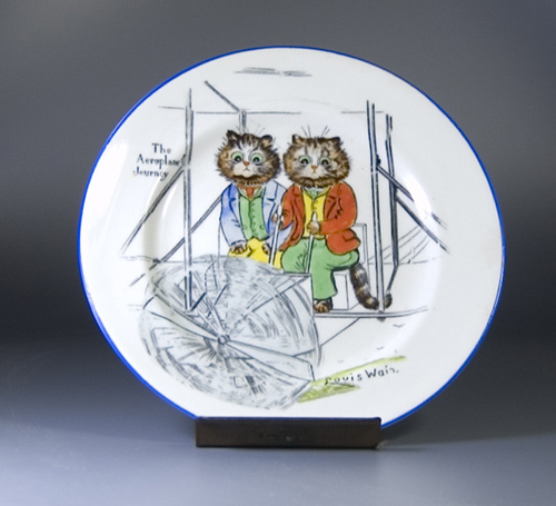 Paragon Tinker Tailor Series Plate by Louis Wain - (Sold)